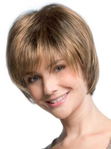 """Perruques Courtes 8"""" Fashion Blonde"""