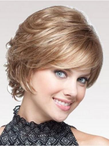 "Perruques Classiques 8"" à la mode Blonde"
