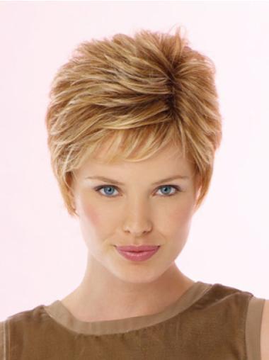 "Perruques Lace Frontale 6"" Excellente Blonde"