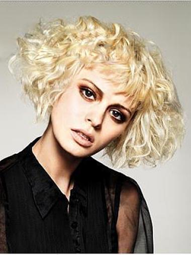 """Perruques Courtes 8"""" Magnifique Blonde"""