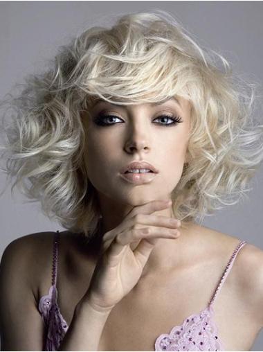 """Perruques Courtes 10"""" Flexible Blonde"""