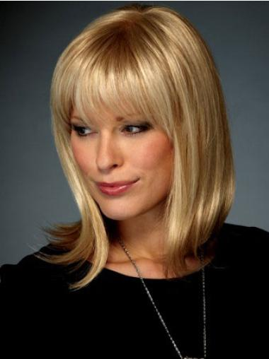 """Perruques Lace Frontale 12"""" Confortable Blonde"""