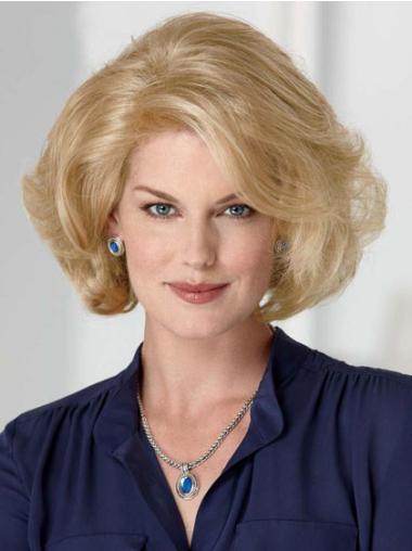 "Perruques Classiques 10"" à la mode Blonde"