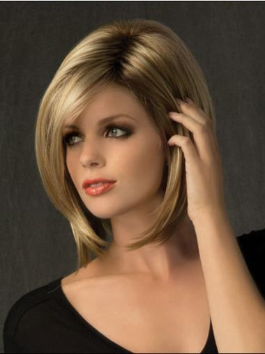 "Perruques Moyennes 10"" Nouvelle Blonde"