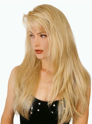 """Perruques Longues 20"""" Haute Qualité Blonde"""