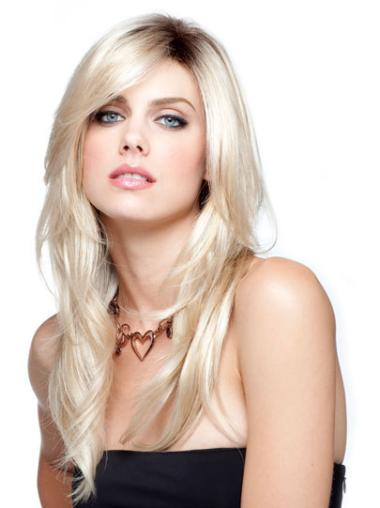 "Perruques 16"" Moderne Blonde"