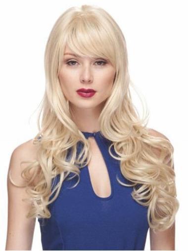 """Perruques Longues 22"""" Branchée Blonde"""