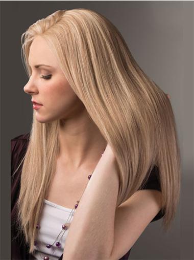"""Remy Human Perruques Lace 26"""" Magnifique Blonde"""