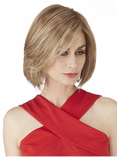 """Perruques Synthétiques style Bob 10"""" Blonde"""