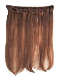 Extensions à Clip Cheveux Humains Auburn Lisse