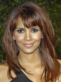 Perruques Halle Berry Full Lace Lisse Sommet 16""
