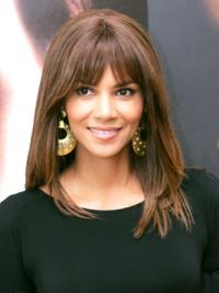 """Perruques Halle Berry Full Lace Lisse Branché 14"""""""
