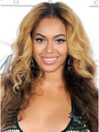Fermeture de Lace Cheveux Humains Blonde Lisse