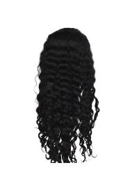 Lace Frontales Cheveux Humains Noir Ondulé