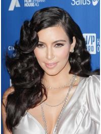"""Perruques Kim Kardashian 22"""" Excellente Noir"""