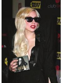 "Perruques Lady Gaga 20"" Bonne Blonde"
