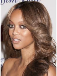 """Perruques Tyra Banks 20"""" Invraisemblable Brune"""