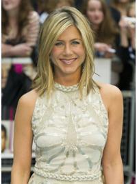 """Perruques Jennifer Aniston 14"""" Bon Marché Blonde"""
