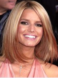 """Perruques Jessica Simpson Adapté 12"""" Lisse Lace Front"""