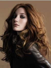 """Perruques Cheveux Humaines 22"""" Belle Brune"""