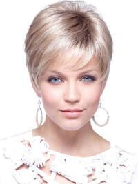"""Perruques Petites 4"""" Branchée Blonde"""