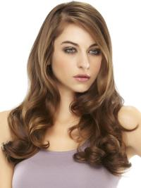 Compléments en Cheveux Appropriée Cheveux Humains Auburn