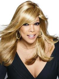 "Perruques Wendy Williams 18"" Lisse Blonde Moderne"