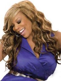 """Perruques Wendy Williams 20"""" Ondulé Brune Abordable"""