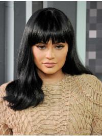 Perruques Ondulé Longue Noire Fabuleux Kylie Jenner Inspired